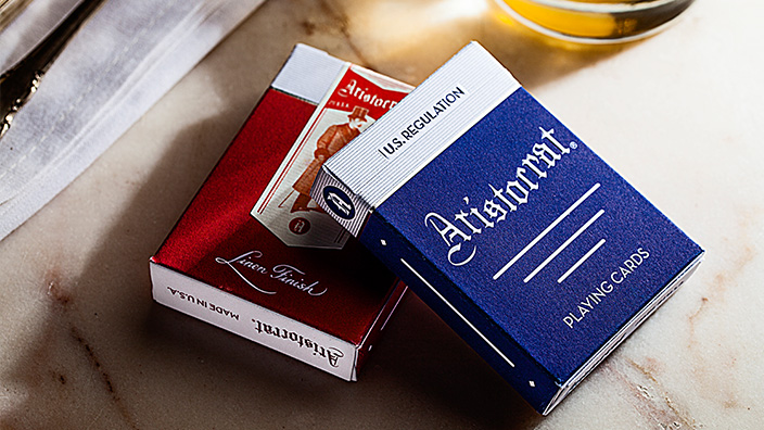 Aristocrat® Vintage Playing Cards par Dan et Dave